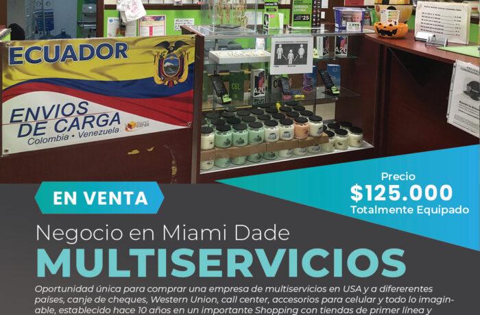 Negocio de multiservicios en Miami-Kendall-Miami Negocios en Venta