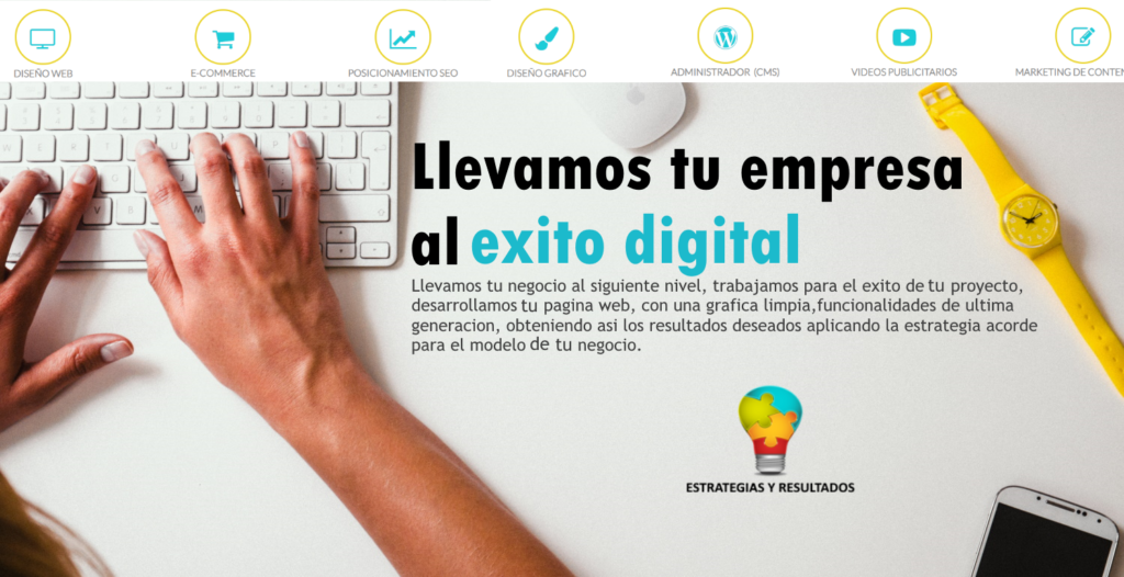 Estrategias y Resultados-Empresa de Marketing Digital