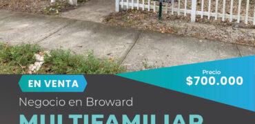 Venta de multifamiliar en Hollywood, FL-Miami Negocios en Venta