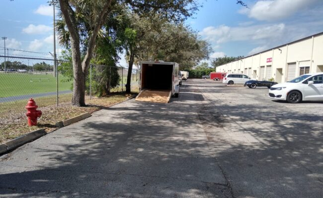 Outside facility of the business for sale in Wellington, FL