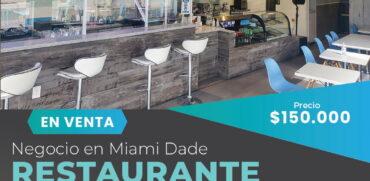 Venta de Restaurante en Miami Beach-Pequeña Buenos Aires
