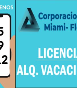 Licencia para Alquiler Vacacional en Hollywood, FL