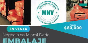 Venta de empresa de embalaje de maletas móvil en Miami, FL