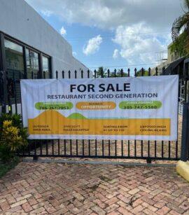 Restaurante a la venta en Coral Gables